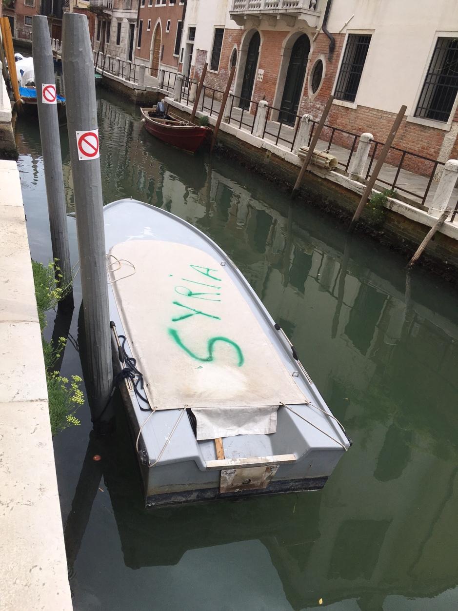 Syria Boat